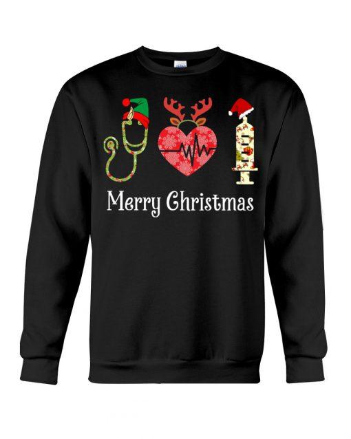Merry Christmas Nurse sweatshirt