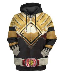 Mighty Morphin Black Power Rangers Custom 3D hoodie 1