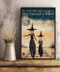 My mother didn't raise a princess she trained a witch poster 4