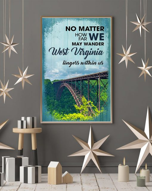 No matter how far we may wander West Virginia lingess within us poster 2
