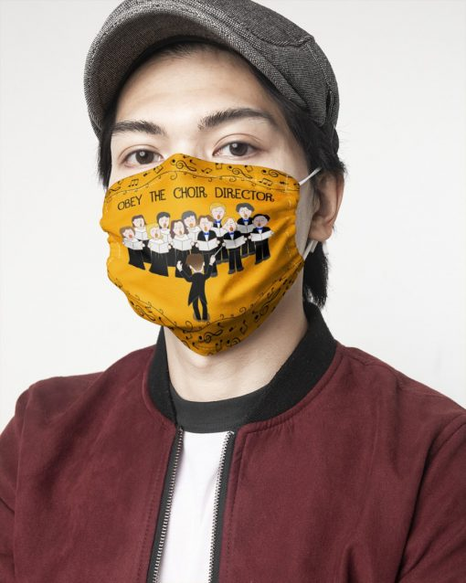 Obey The Choir Director Face Mask3
