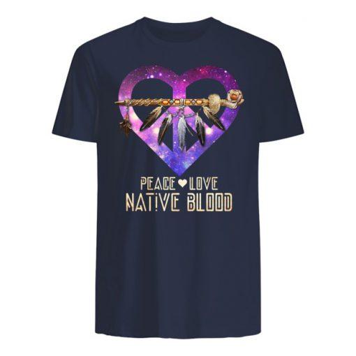Peace Love Native Blood T-Shirt
