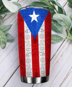 Personalized Puerto Rico Flag Tumbler1