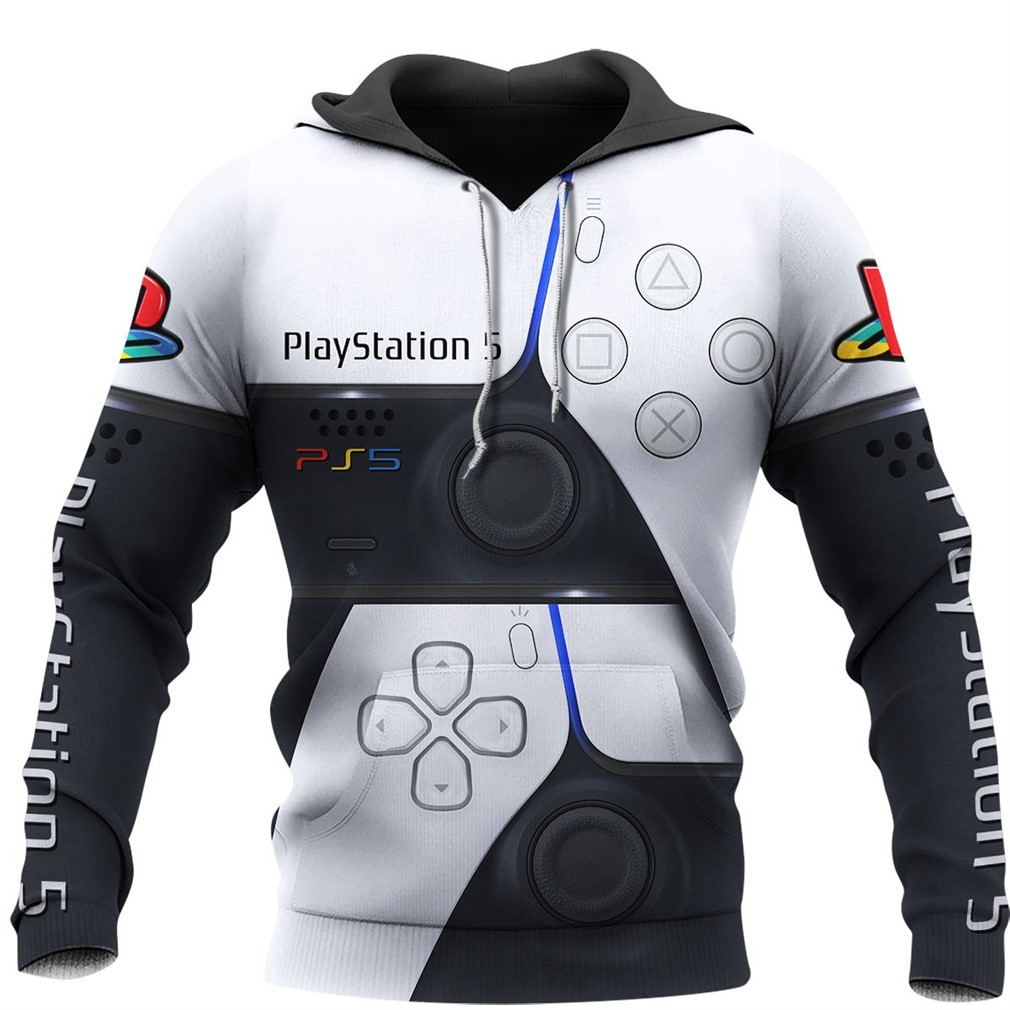 PlayStation PS5 3D Full Over Print Hoodie
