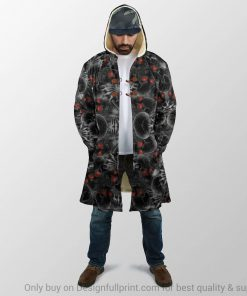 Red Eyes Screaming Skull Personalized 3D hoodie2