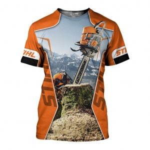 STIHL Chainsaw 3D All Over Printed shirt