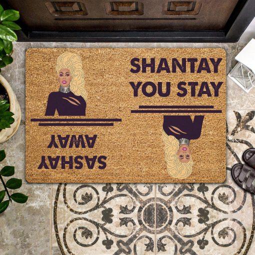 Sashay Away Shantay You Stay Doormat 0