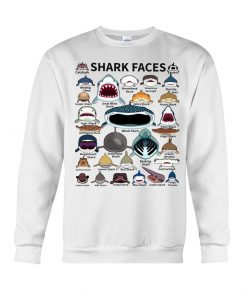 Shark Faces Sweatshirt