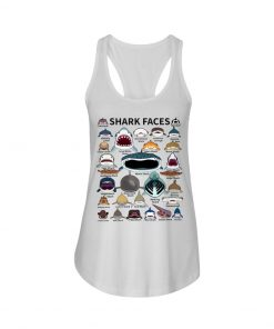 Shark Faces tank top