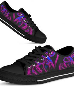 Skull low top shoes