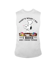 Snoopy that's what I do I bake and I know things tank top