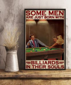 Some men are just born with billiards in their souls poster3