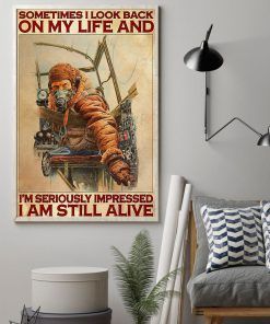 Sometimes I look back on my life and I'm seriously impressed I'm still alive Pilot poster1