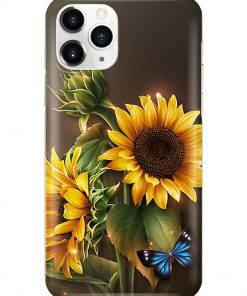 Sunflower Butterfly phone case 11