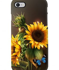Sunflower Butterfly phone case 7