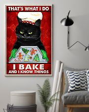 That's what I do I bake and I know things Cat Chrismas poster 1