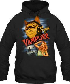 The return of Vampurr Cat hoodie