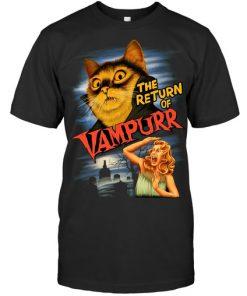 The return of Vampurr Cat shirt