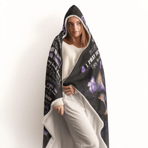 To my daughter wherever your journey in life may take you I pray you'll always be safe enjoy the ride fleece blanket6