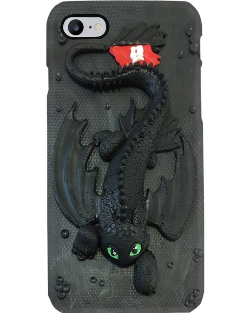 Toothless Dragon 3D phone case 7