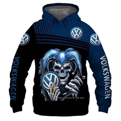 Volkswagen Skull 3D All Over Print Hoodie 0