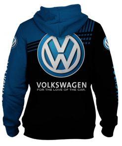 Volkswagen Skull 3D All Over Print Hoodie 1