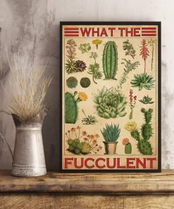 What The Fucculent Cactus Poster3