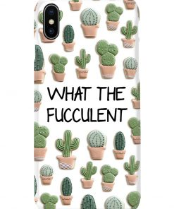 What the fucculent phone case x
