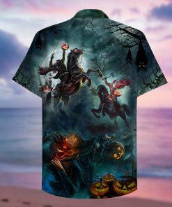 Where Is My Head Halloween Hawaiian Shirt 1