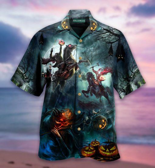 Where Is My Head Halloween Hawaiian Shirt