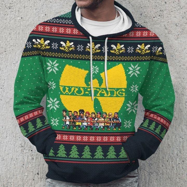 Wu-Tang Clan Ugly Christmas Hoodie