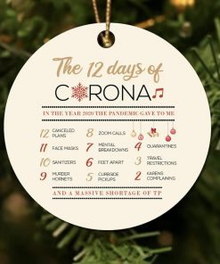 12 Days of Corona Christmas Ornament 1