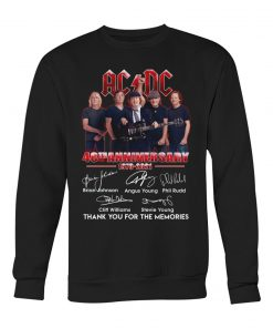 AC DC 48th Anniversary 1973-2021 Sweatshirt