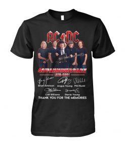 AC DC 48th Anniversary 1973-2021 T-shirt