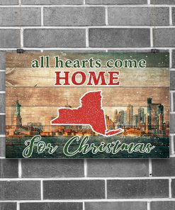 All hearts come home for Christmas New York Poster1