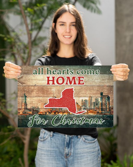 All hearts come home for Christmas New York Poster2