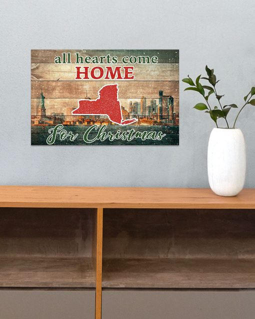 All hearts come home for Christmas New York Poster3