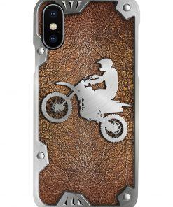Biker as metal phone case 7