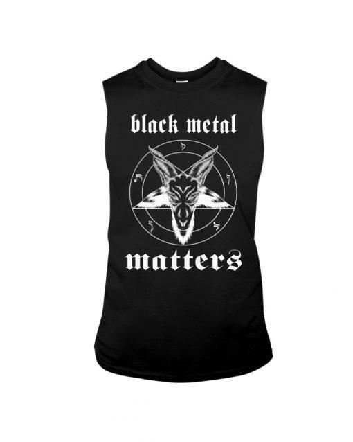 Black Metal Matters tank top