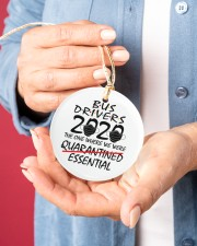 Bus Drivers 2020 the one where we were quarantined essential Ornament 1