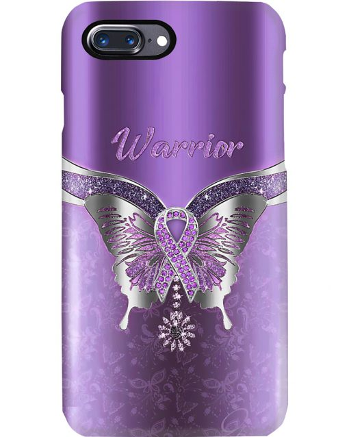 Butterfly Warrior Fibromyalgia Awareness Phone case 7