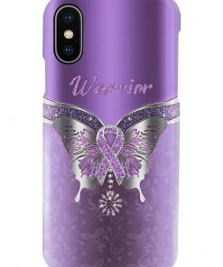 Butterfly Warrior Fibromyalgia Awareness Phone case x