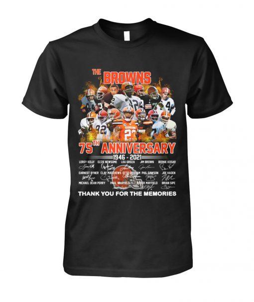 Cleveland Browns 75th Anniversary 1946-2021 Shirt