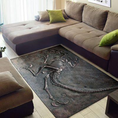 Dinosaur Fossils Rug1