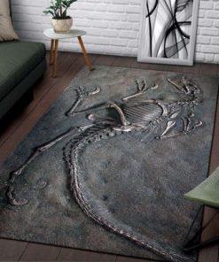 Dinosaur Fossils Rug3