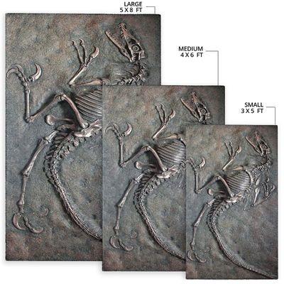 Dinosaur Fossils Rug5
