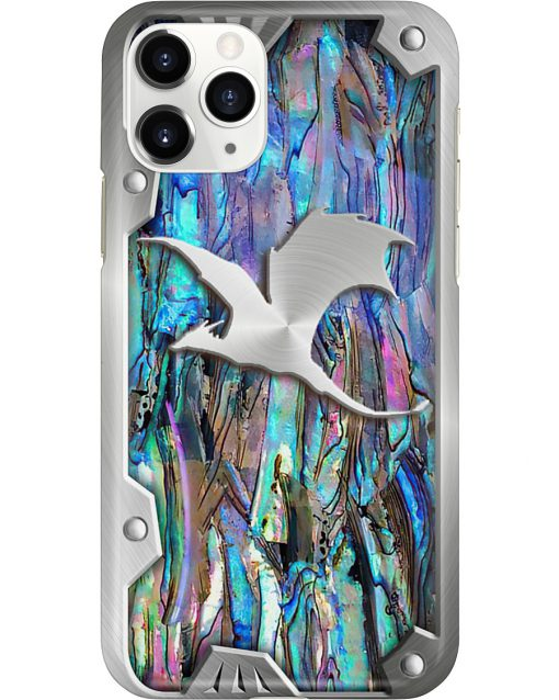 Dragon as metal phone case 11