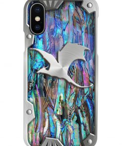 Dragon as metal phone case x