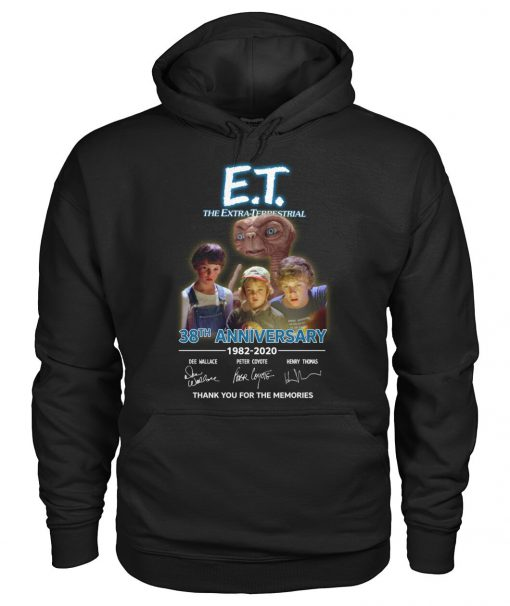 E.T. the Extra-Terrestrial 38th Anniversary 1982-2020 Hoodie