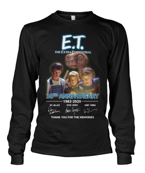 E.T. the Extra-Terrestrial 38th Anniversary 1982-2020 Long sleeve